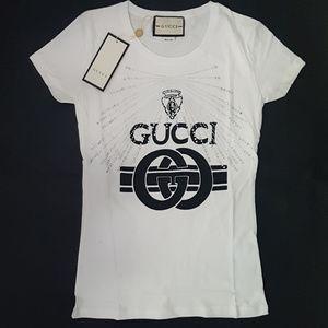 tshirt gucci white